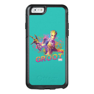 Guardians of the Galaxy | Groot Neon Graphic OtterBox iPhone 6/6s Case