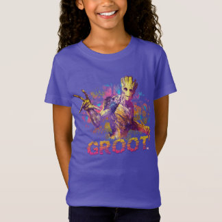 Guardians of the Galaxy | Groot Neon Graphic T-Shirt