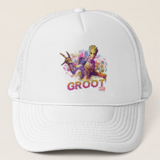 Guardians of the Galaxy | Groot Neon Graphic Trucker Hat
