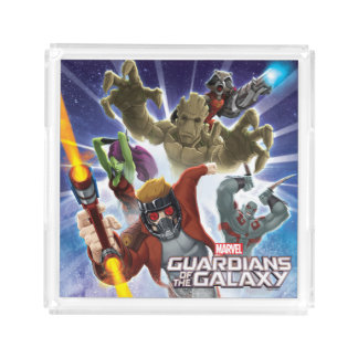 Guardians of the Galaxy | Group Attack Acrylic Tray