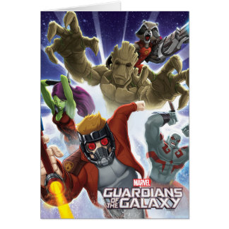 Guardians of the Galaxy | Group Attack Card
