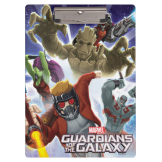 Guardians of the Galaxy | Group Attack Clipboard