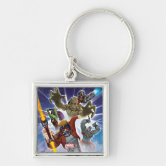 Guardians of the Galaxy | Group Attack Key Ring