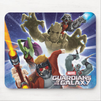 Guardians of the Galaxy | Group Attack Mouse Pad