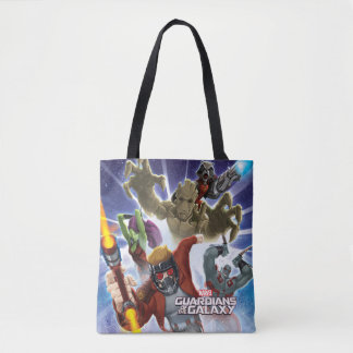 Guardians of the Galaxy | Group Attack Tote Bag
