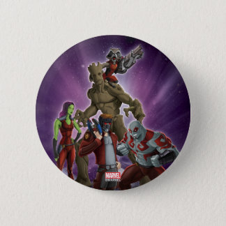 Guardians of the Galaxy | Group In Space 6 Cm Round Badge