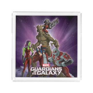 Guardians of the Galaxy | Group In Space Acrylic Tray