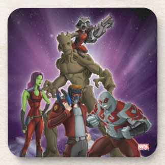 Guardians of the Galaxy | Group In Space Beverage Coaster