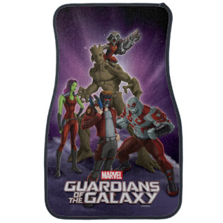 Guardians of the Galaxy | Group In Space Car Mat