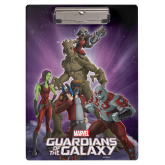 Guardians of the Galaxy | Group In Space Clipboard