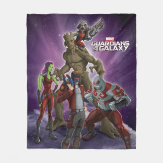 Guardians of the Galaxy | Group In Space Fleece Blanket