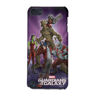 Guardians of the Galaxy | Group In Space iPod Touch (5th Generation) Case