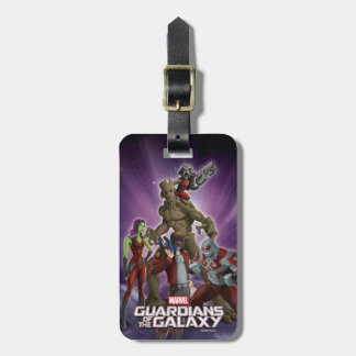 Guardians of the Galaxy | Group In Space Luggage Tag