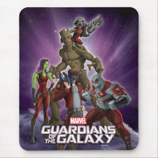 Guardians of the Galaxy | Group In Space Mouse Pad