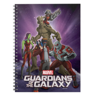 Guardians of the Galaxy | Group In Space Notebook