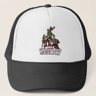 Guardians of the Galaxy | Group In Space Trucker Hat