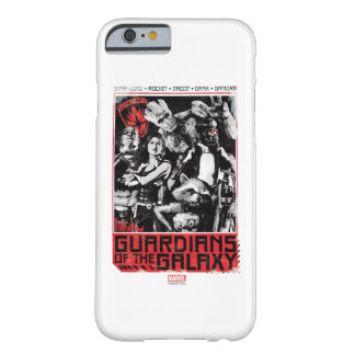 Guardians of the Galaxy | Grunge Crew Art Barely There iPhone 6 Case