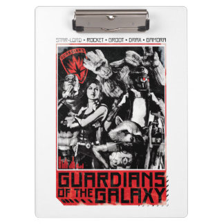 Guardians of the Galaxy | Grunge Crew Art Clipboards