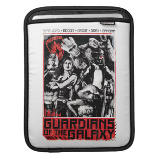Guardians of the Galaxy | Grunge Crew Art iPad Sleeve