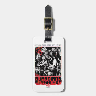 Guardians of the Galaxy | Grunge Crew Art Luggage Tag