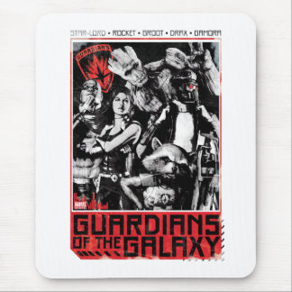 Guardians of the Galaxy | Grunge Crew Art Mouse Pad