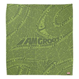 Guardians of the Galaxy | I Am Groot Typography Bandana