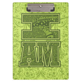 Guardians of the Galaxy | I Am Groot Typography Clipboard