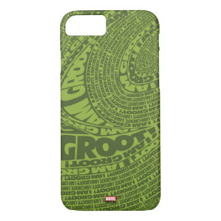 Guardians of the Galaxy | I Am Groot Typography iPhone 8/7 Case