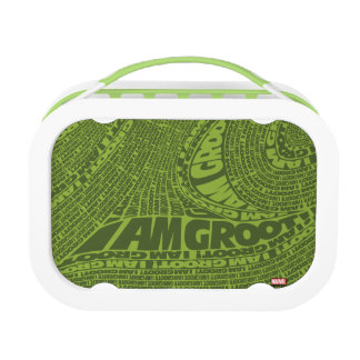 Guardians of the Galaxy | I Am Groot Typography Lunch Box