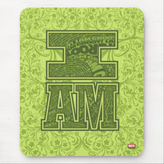 Guardians of the Galaxy   I Am Groot Typography Mouse Pad