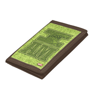 Guardians of the Galaxy | I Am Groot Typography Tri-fold Wallets