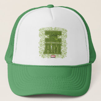 Guardians of the Galaxy | I Am Groot Typography Trucker Hat