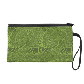 Guardians of the Galaxy   I Am Groot Typography Wristlet Purses