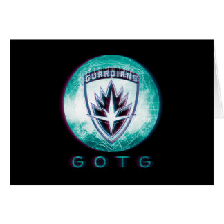 Guardians of the Galaxy | Interlaced Badge Card