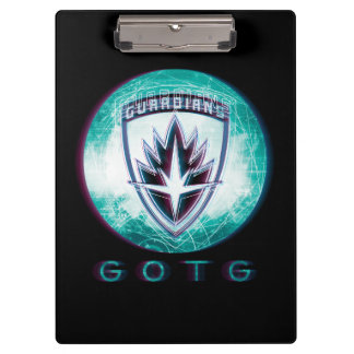 Guardians of the Galaxy | Interlaced Badge Clipboard