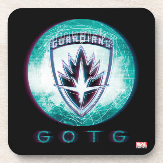 Guardians of the Galaxy | Interlaced Badge Coaster