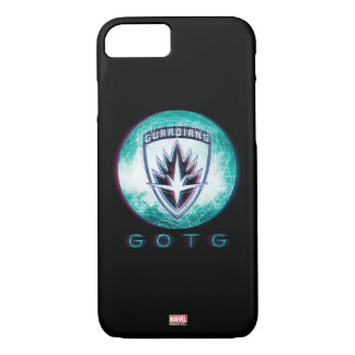 Guardians of the Galaxy | Interlaced Badge iPhone 8/7 Case