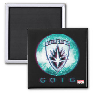 Guardians of the Galaxy | Interlaced Badge Magnet