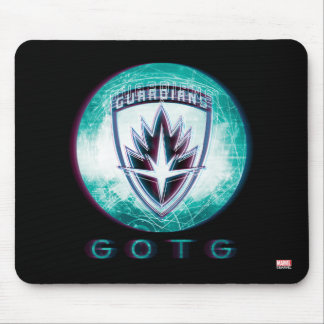 Guardians of the Galaxy | Interlaced Badge Mouse Pad