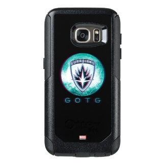 Guardians of the Galaxy | Interlaced Badge OtterBox Samsung Galaxy S7 Case
