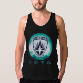 Guardians of the Galaxy | Interlaced Badge Singlet