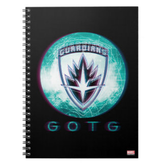 Guardians of the Galaxy | Interlaced Badge Spiral Notebook