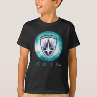 Guardians of the Galaxy | Interlaced Badge T-Shirt