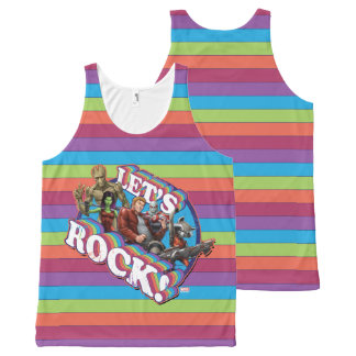 Guardians of the Galaxy | Let's Rock! All-Over Print Singlet