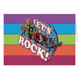 Guardians of the Galaxy | Let's Rock! Card