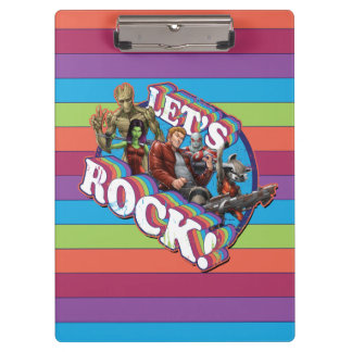 Guardians of the Galaxy | Let's Rock! Clipboard