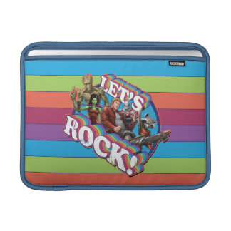 Guardians of the Galaxy | Let's Rock! MacBook Sleeve