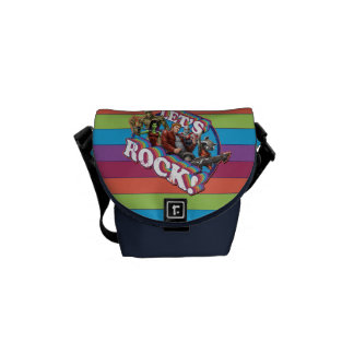 Guardians of the Galaxy | Let's Rock! Messenger Bags