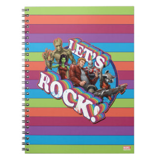 Guardians of the Galaxy | Let's Rock! Notebook