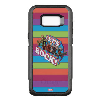 Guardians of the Galaxy | Let's Rock! OtterBox Commuter Samsung Galaxy S8+ Case
